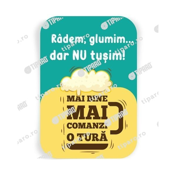 Stickere preventie horeca radem si glumim vertical 1