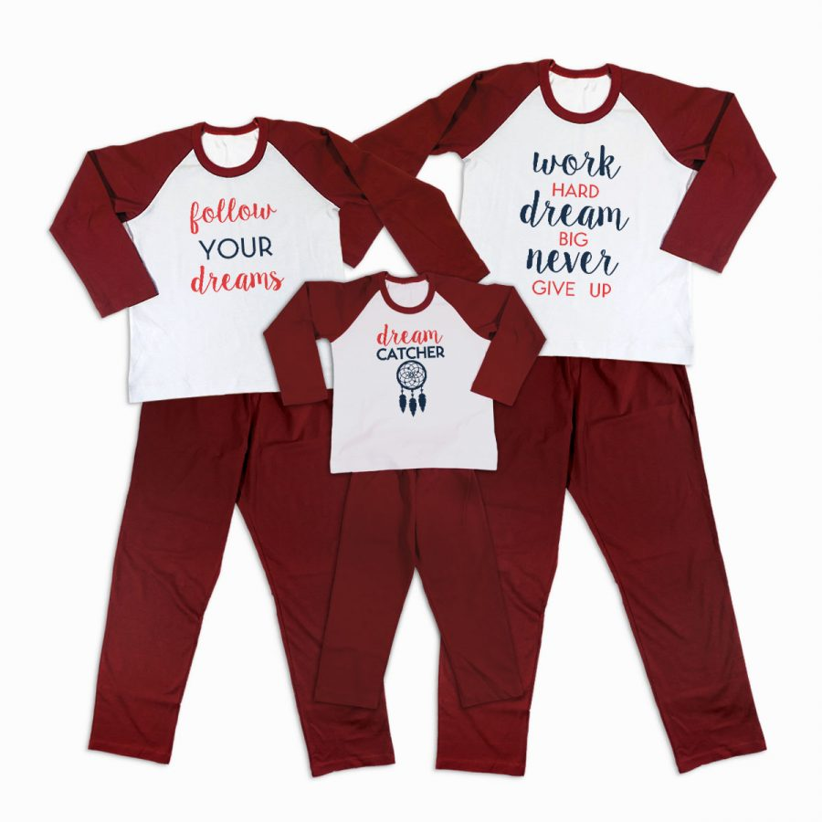 Pijamale Personalizate Familie Dreaming 1