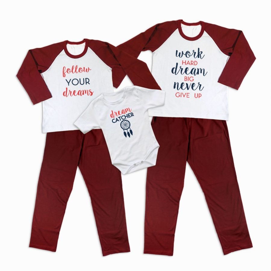 Pijamale Personalizate Familie Dreaming 2