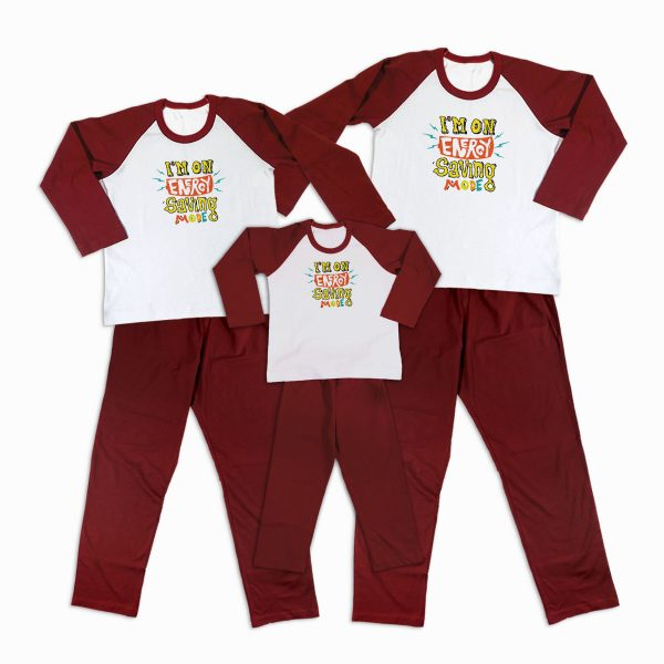 Pijamale Personalizate Familie Saving Mode 1