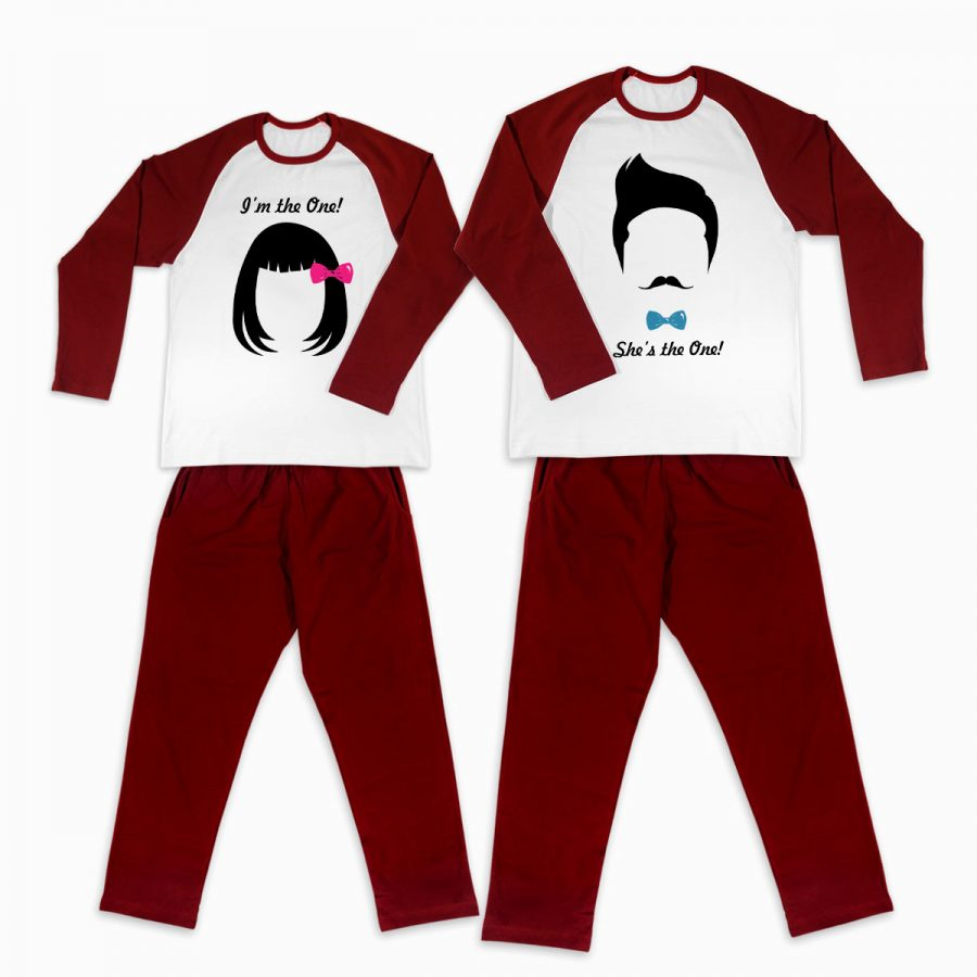 Pijamale personalizate cupluri Boy and Girl 1