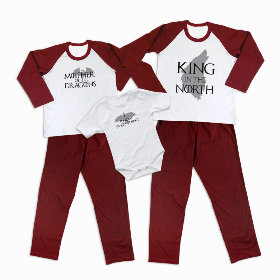 Pijamale Personalizate Familie Game of Thrones 1