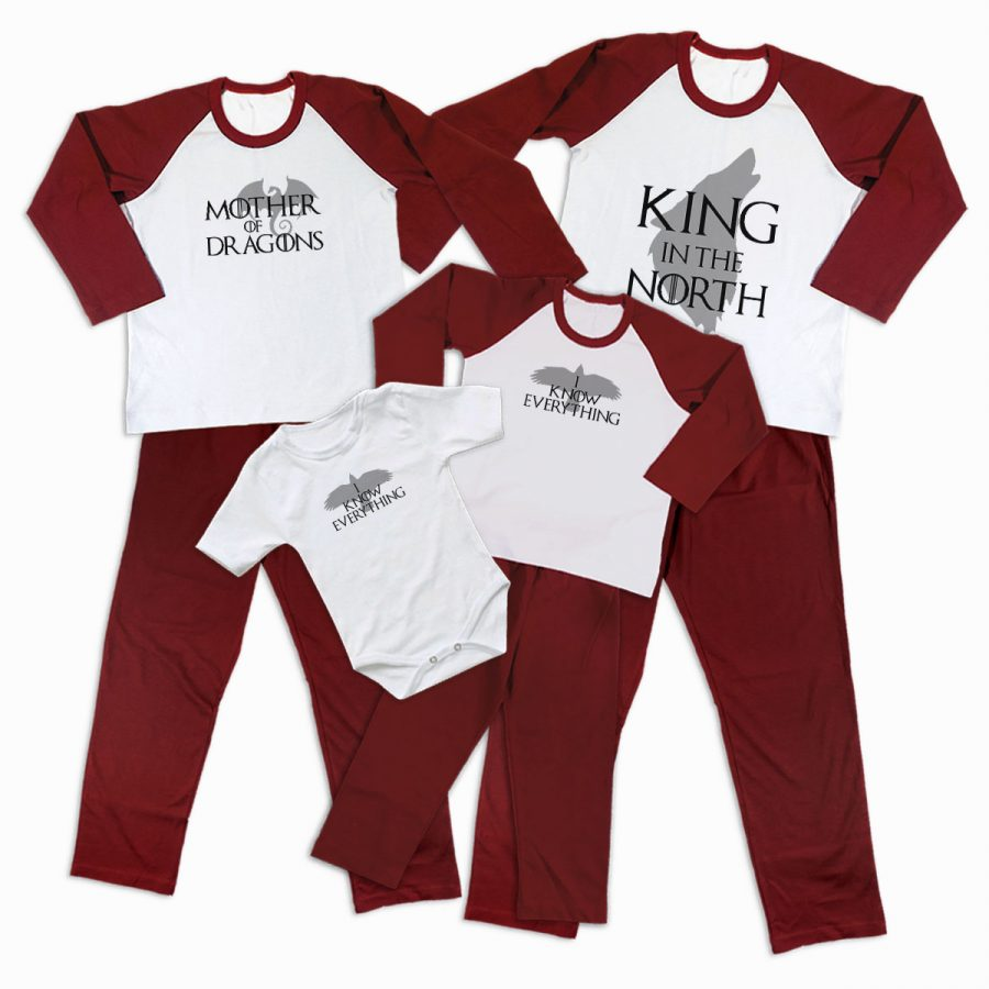 Pijamale Personalizate Familie Game of Thrones 2 1
