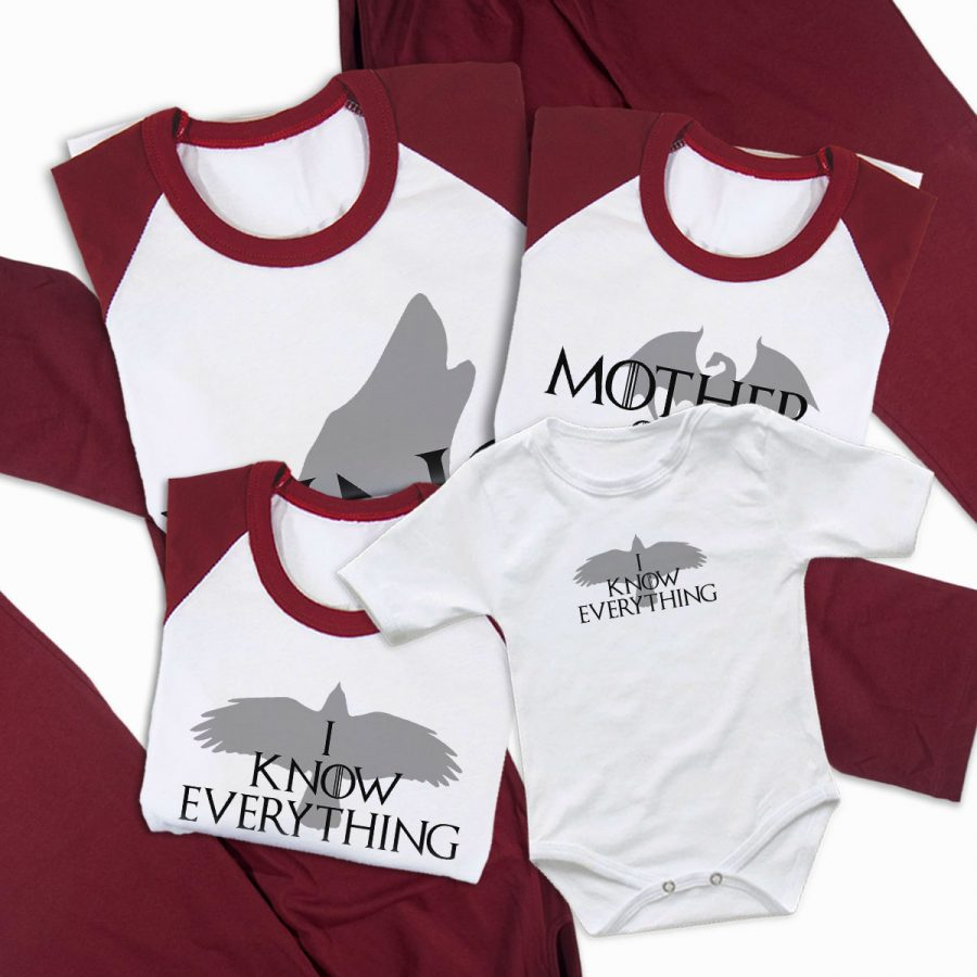 Pijamale Personalizate Familie Game of Thrones 2 2