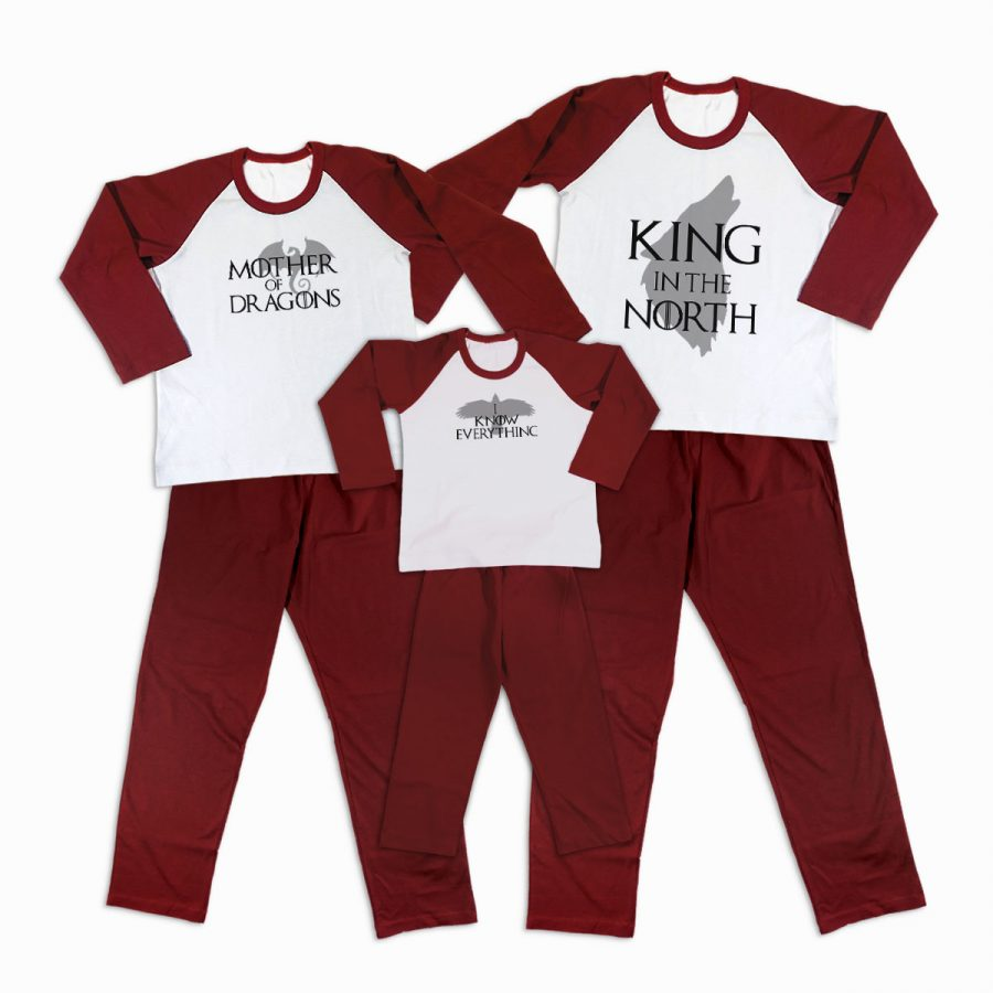 Pijamale Personalizate Familie Game of Thrones 2