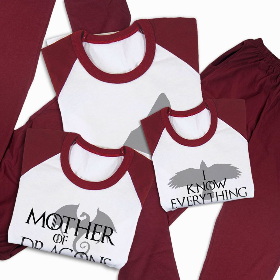 Pijamale Personalizate Familie Game of Thrones 3