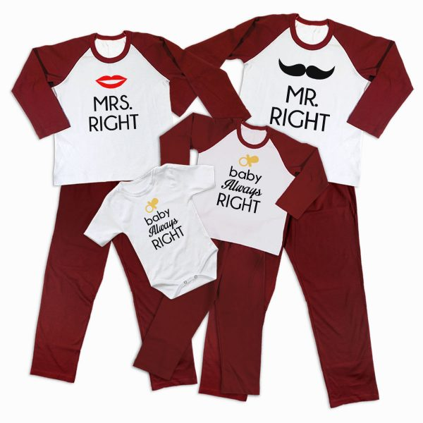Pijamale Personalizate Familie Right Family 2 1