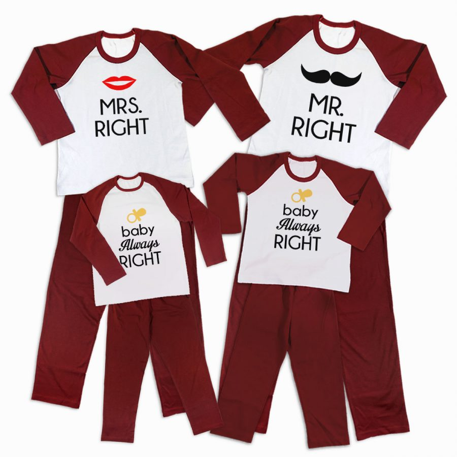 Pijamale Personalizate Familie Right Family 3 1