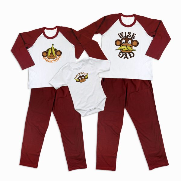 Pijamale Personalizate Familie Three Wise Monkeys 1
